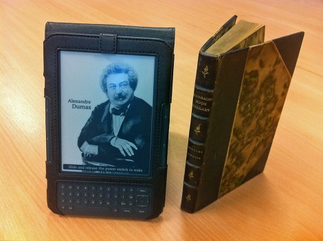 Amazon Kindle 3, Tuff-Luv Saddleback case and Barrack Room Ballads