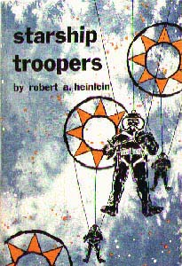 Starship Troopers first edition cover
