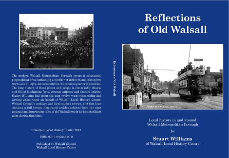 Reflections of Old Walsall - proof cover.