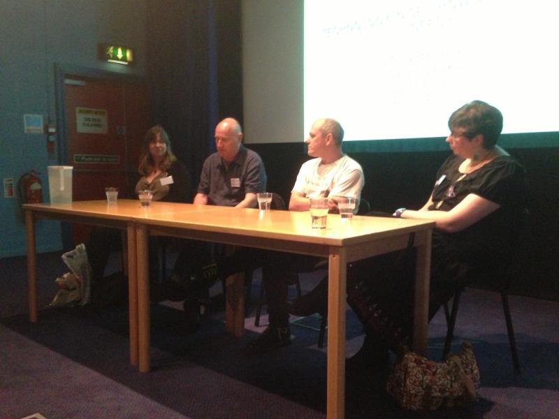 Boundaries of SF panelists Adele Wearing, Ian R MacLeod, Andrew Hook and Selena Lock