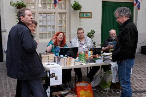 The Fringeworks table