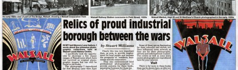Memory Lane by Stuart Williams Walsall Chronicle 25 July 2013