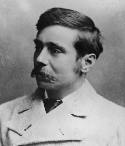 The young HG Wells