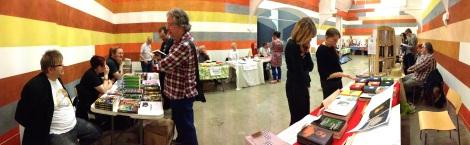 Exhibitors at Birmingham Independent Book Fair