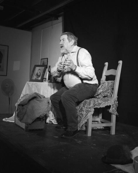 Tony Barrett weaves tales from tat...