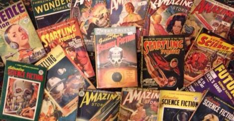 A recent gift of pulps from an old and very encouraging friend!
