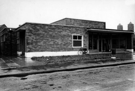 Bloxwich Library in June 1962 (Walsall Local History Centre)