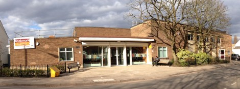 Bloxwich Library and Library Theatre, back in the winter