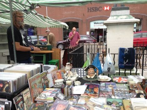 Andy Hendley and the Over the Garden Wall stall
