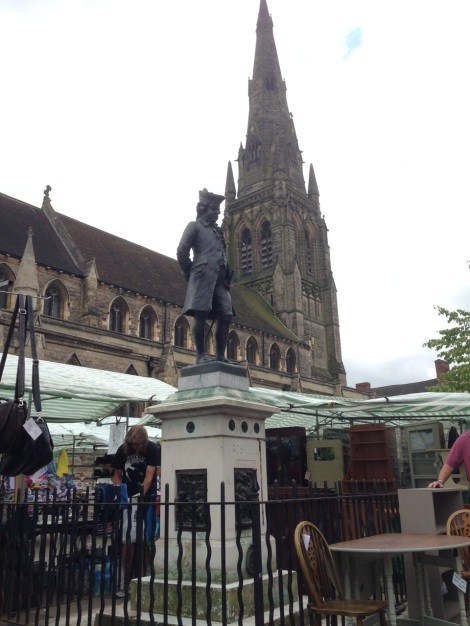 Boswell, St Mary's and Lichfield Market