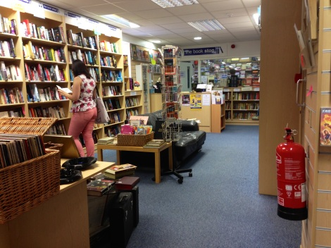 The Book Stop looking towards the counter