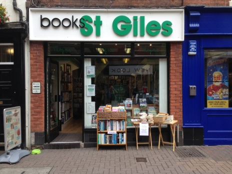 The St Giles Hospice bookshop