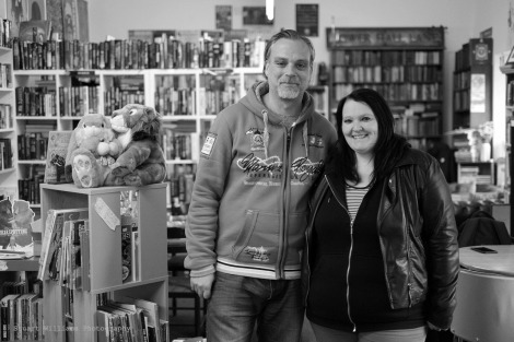 Scott and Amy at Southcart Books, 16th September 2017